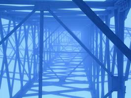 Bilder - Best of 2002 - strommast-nebel