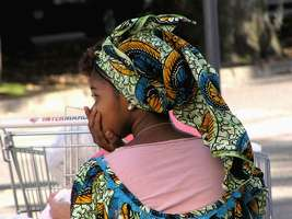 Bilder - Best of 2004 - Spanien - Girona - african-girl