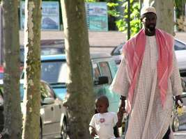 Bilder - Best of 2004 - Spanien - Girona - african-man-child