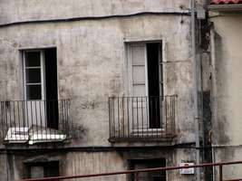 Bilder - Best of 2004 - Spanien - Girona - haus-wand