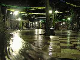 Bilder - Best of 2004 - Spanien - Girona - nacht-lichter