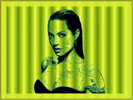 Bilder - Best of 2010 - angelina-jolie-camouflage