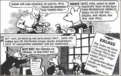 Comics - Art Spiegelmann: Maus