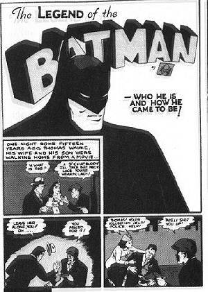 Comics - Bill Finger und Bob Cane: Batman