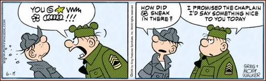 Comics - Mort Walker: Beetle Bailey