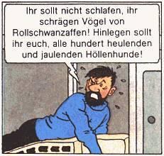 Comics - Herge: Kapitän Haddock