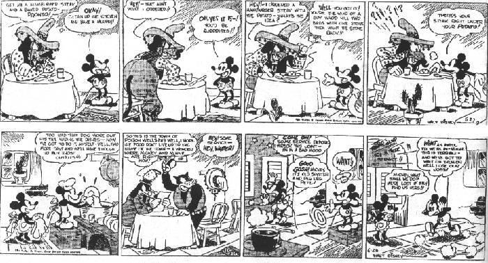 Comics - Floyd Gottfredson: Mickey Mouse