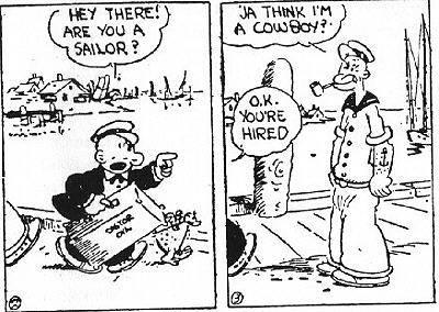 Comics - E.C. Segar: Popeye