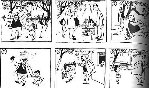 Comics - e.o.plauen: Vater und Sohn