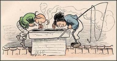 Comics - Wilhelm Busch: Max und Moritz