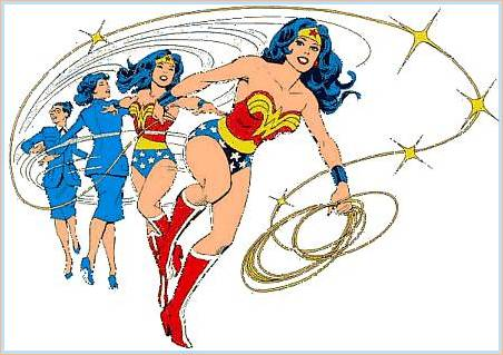 Comics - William Moulton und Harry Peter: Wonderwomen