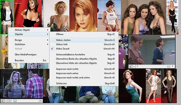 Delphi-Tutorials - MediaPanelyzer - Screenshot of a running MediaPanelyzer