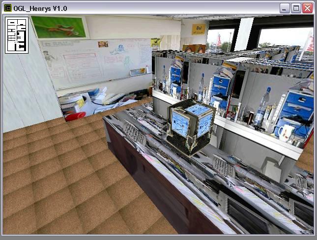 Delphi-Tutorials - OpenGL HENRY's - Kollisionskontrolle über 2D-Map