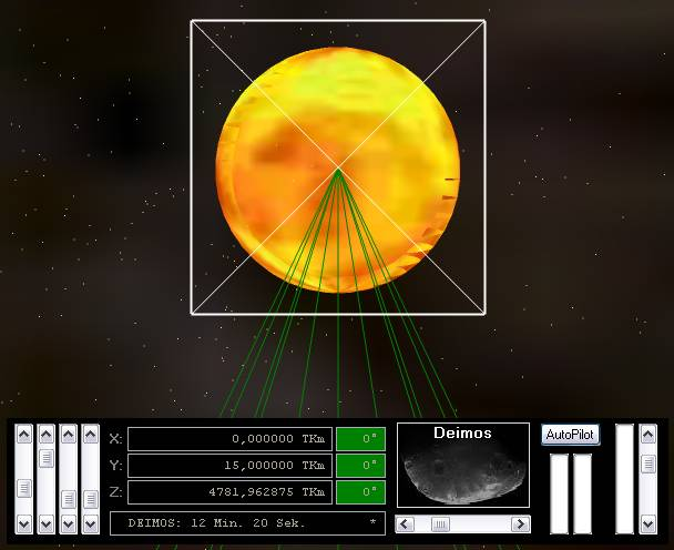 Delphi-Tutorials - OpenGL Planets - OpenGL depth buffer problem - the Sun is transparent