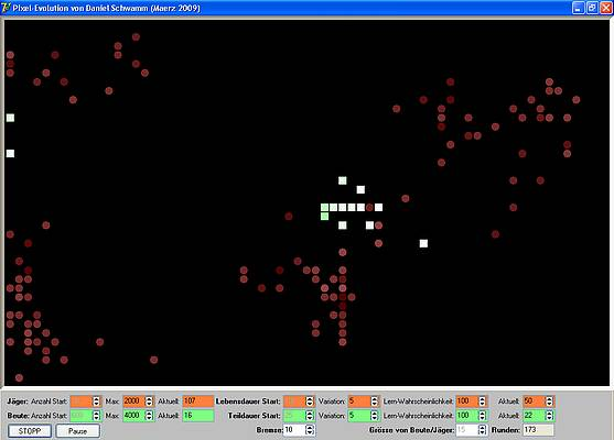 Pixel-Evolution - Jäger in der Übermacht