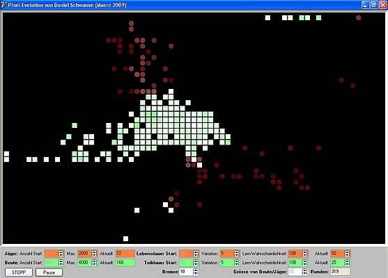 Pixel-Evolution - Strategie II: Zangen-Angriff der Jäger