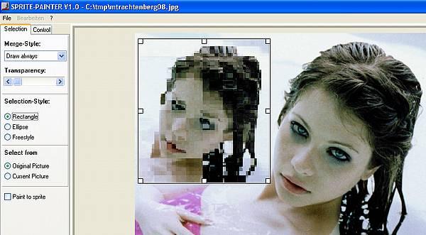 Sprite-Painter - Resize mit nur einer Bitmap