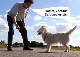 It's a dogs life - Tarzan - Draussen 04