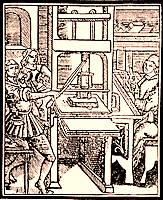 News - Gutenbergs Druckerpresse bringt Neuigkeiten in die Welt