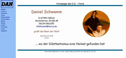 News - Homepage-Version vom 04.06.2005: Startseite